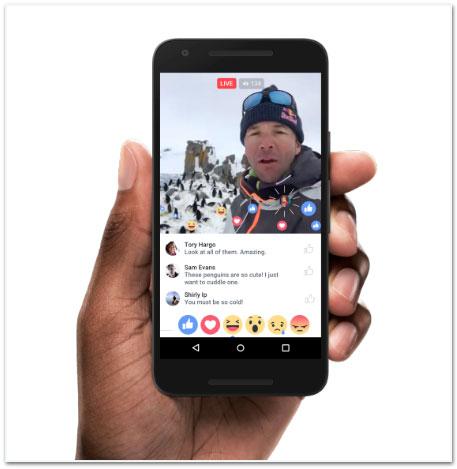 Cómo interactuar en Facebook Live