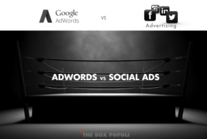 Google Adwords vs social ads